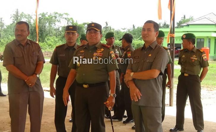 TNI Punya Markas Baru di Rohil Riau, Danrem: Sudah Layak Ditempati
