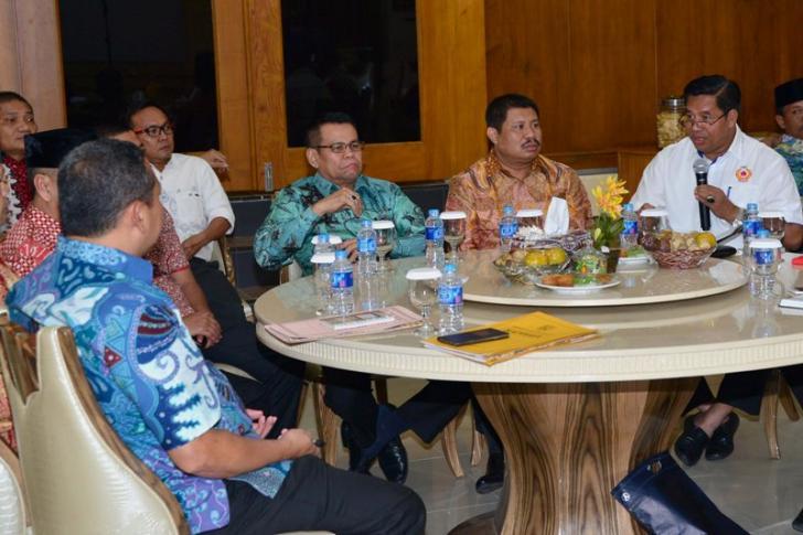 Ahmad Syah Tinggalkan 21 'PR' untuk Bupati dan Wabup Bengkalis yang Baru