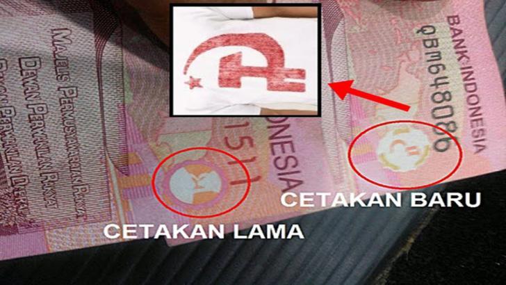 Ada Simbol PKI di Uang Rp100 Ribu, Begini Penjelasan BI