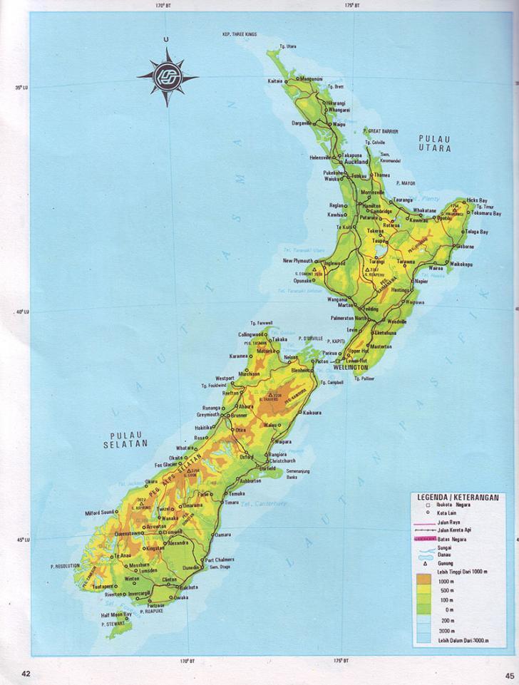 Selandia Baru Diguncang Gempa, Waspada Tsunami!