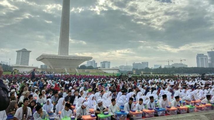 TNI Polri Gelar Istighosah dan Doa Keselamatan Bangsa di Monas