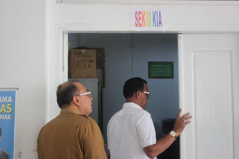 Duh, Dibangun 2 Lantai, Kantor Diskes Rohil yang Pernah Kemalingan Tak Punya Areal Parkir