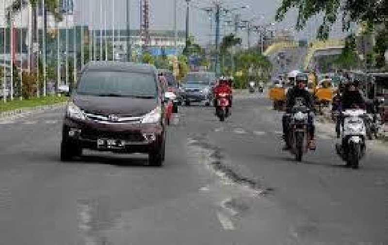 Jangan Senang Dulu, Perbaikan Gelombang Jalan Yos Sudarso Rumbai Bersifat Sementara