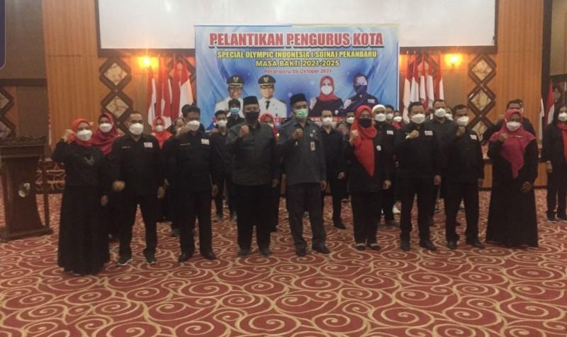 Pengurus SOIna Pekanbaru Resmi Dilantik, Abdul Khoir Ketua & Hengki Seprihadi Humas