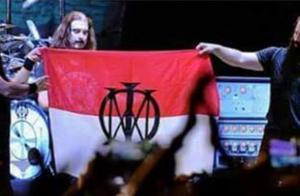 Merah Putih Dicoret Lambang Metallica, Kata Kapolri Akan Diselidiki