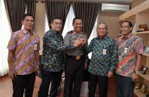 Dirut BRK Silaturahmi dengan Kapolda Riau yang Baru Dilantik